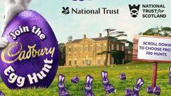 Cadbury a évacué la religion de sa chasse aux oeufs, et ça choque au