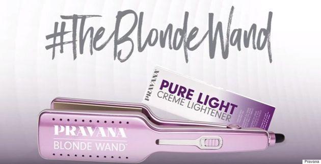 La Blonde Wand vous permettra de devenir blonde en un clin