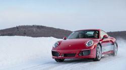 Porsche Camp4 Canada: la conduite hivernale pour les