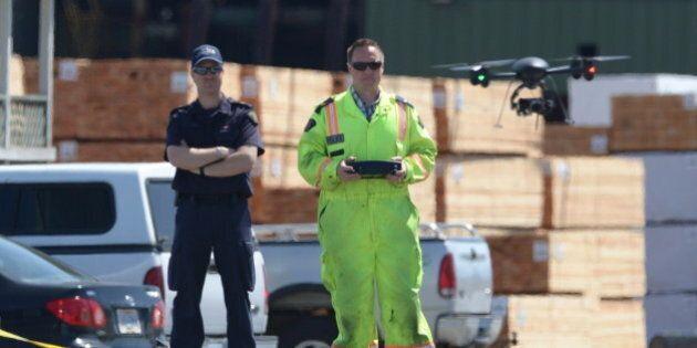 Les dizaines de drones de la GRC préoccupent le Commissariat à la vie