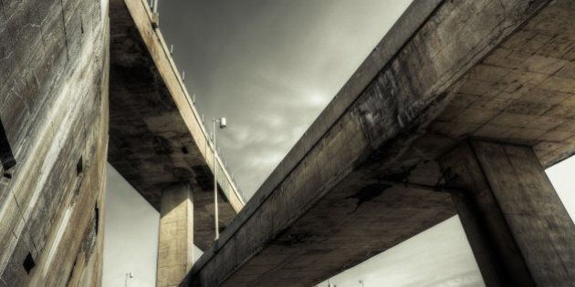 A section of the Turcot Interchange, Montreal's elevated