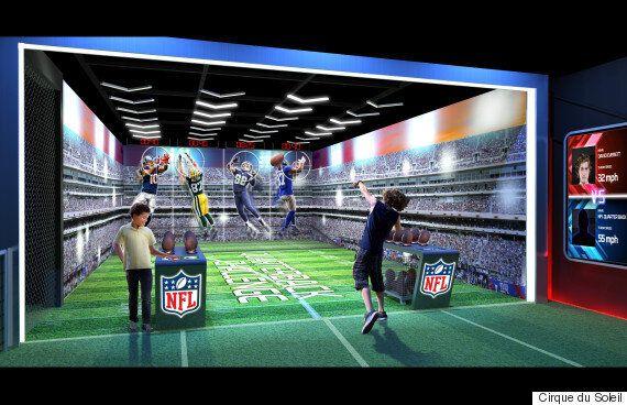 Le Cirque du Soleil crée une attraction immersive pour la NFL à Times Square