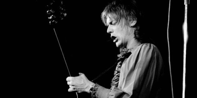 COPENHAGEN, DENMARK: John Geils of the J. Geils Band performs on stage in June 1972 in Copenhagen, Denmark....