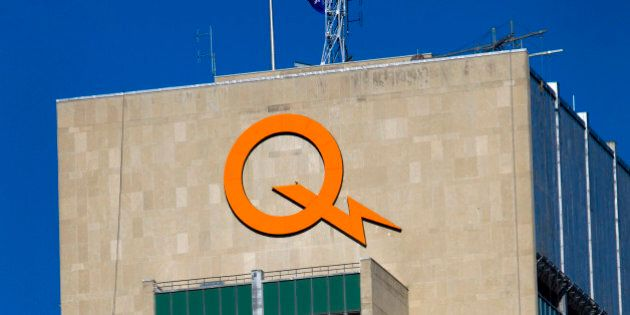 The Hydro-Quebec office stands in Montreal, Quebec, Canada, on Saturday, Nov. 5, 2011. Hydro-Quebec,...