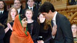 Malala honorée par le