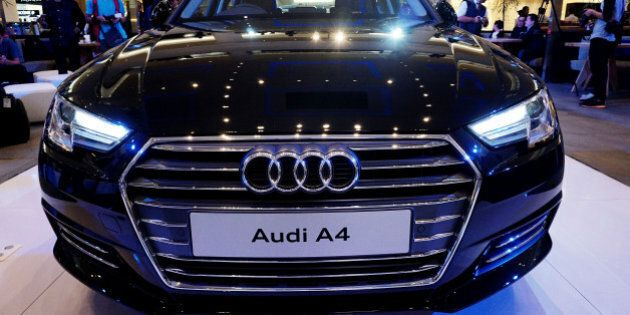 JAKARTA, INDONESIA - JUNE 01: A new Audi A4 during its launch on June 01, 2016 in Jakarta, Indonesia....