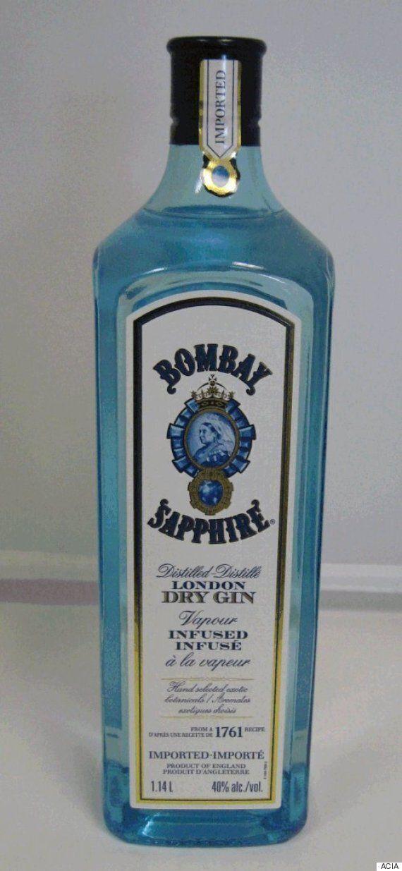 La LCBO procède au rappel d'un gin Bombay Sapphire en raison d'une trop forte teneur en