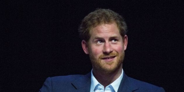 Britain's Prince Harry attends the International Aids Conference at the international convention centre...
