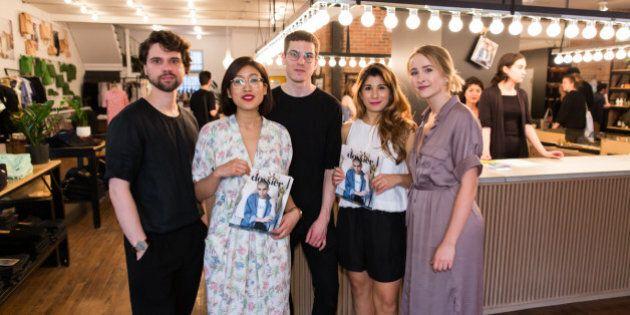 Styles de soirée: la mode québécoise star du nouveau magazine de mode Dossier