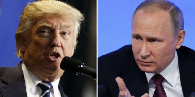 Trump et Poutine réitèrent leur volonté de collaborer sur la guerre en