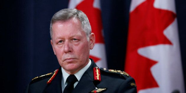 Canada's Chief of Defence Staff General Jonathan Vance takes part in a news conference in Ottawa, Ontario,...