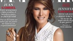 Melania Trump mange des diamants en couverture de Vanity Fair