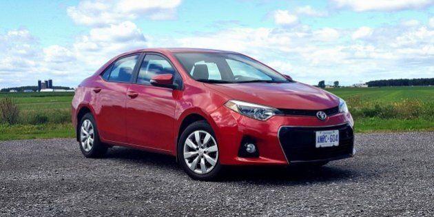 Essai routier Toyota Corolla S 2016: activité père-fils