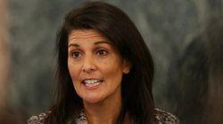 Les États-Unis vont «montrer leur force», dit l'ambassadrice américaine à