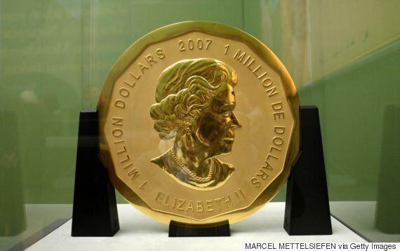 Allemagne: les voleurs ont utilisé une brouette pour emporter la pièce d'or de 100