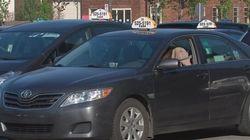 Les taxis manifestent à