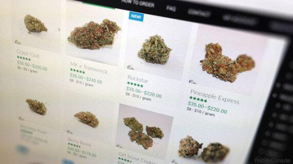 Du cannabis vendu illégalement sur le