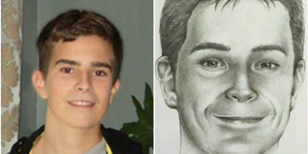 Enfants disparus: une photo de David Fortin à l'âge de 22 ans est