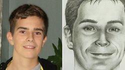 Une photo de David Fortin à l'âge de 22 ans est