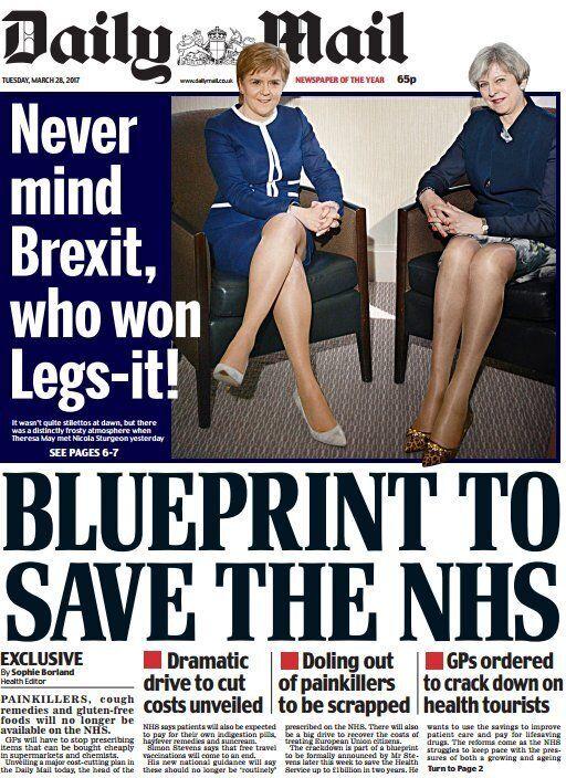 Après la Une sexiste du «Daily Mail», les internautes lui demandent de noter leurs