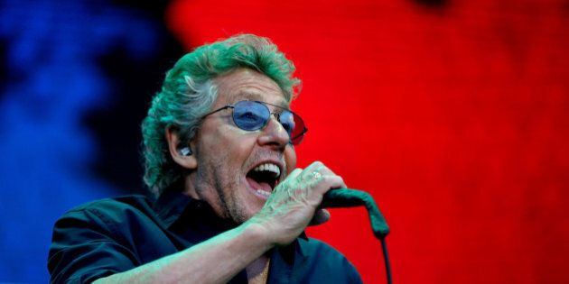 Roger Daltrey of The Who performs at the MadCool festival as part of their The Who Hits 50! tour in Madrid,...