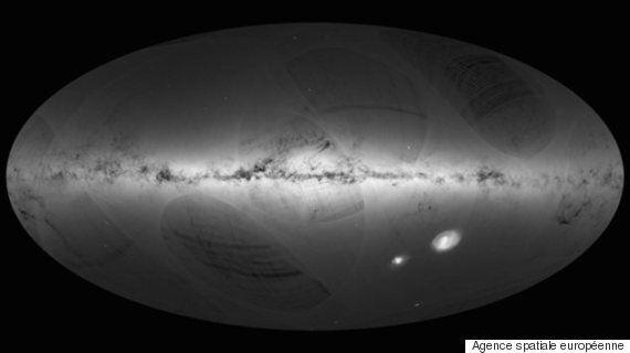 Plus d'un milliard d'étoiles de la Voie lactée localisées, une