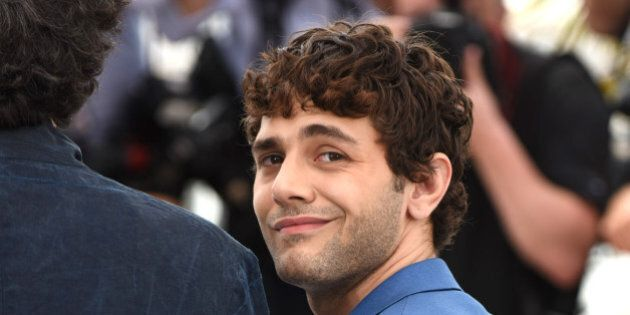 Xavier Dolan poses for photographers during a photo call for the Jury, at the 68th international film festival, Cannes, southern France, Wednesday, May 13, 2015. (Photo by Arthur Mola/Invision/AP)