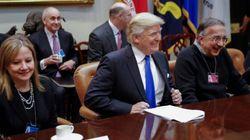 Trump a trouvé une oreille attentive auprès des constructeurs