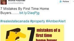 Des agents immobiliers présentent des excuses pour avoir utilisé le mot-clic « #AmberAlert