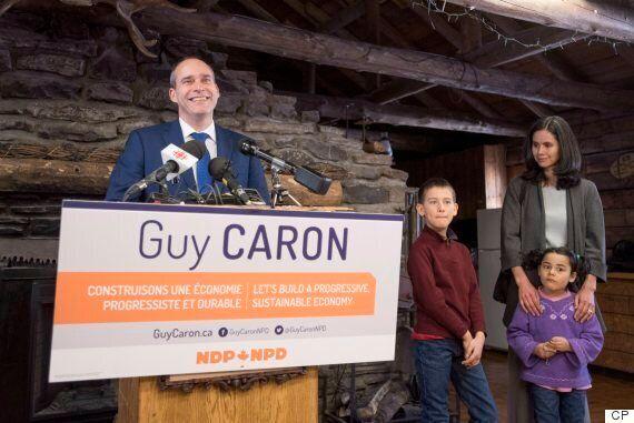 NPD: Guy Caron veut lutter contre la pauvreté avec un revenu de base pour