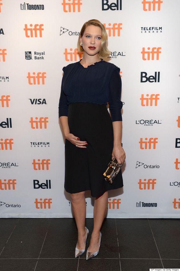 Léa Seydoux est enceinte et nous le montre