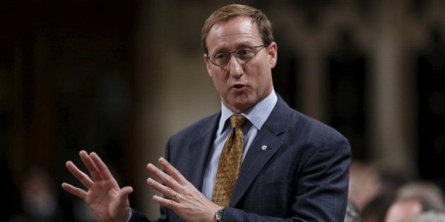 Canada's Justice Minister Peter MacKay speaks during Question Period in the House of Commons on Parliament...