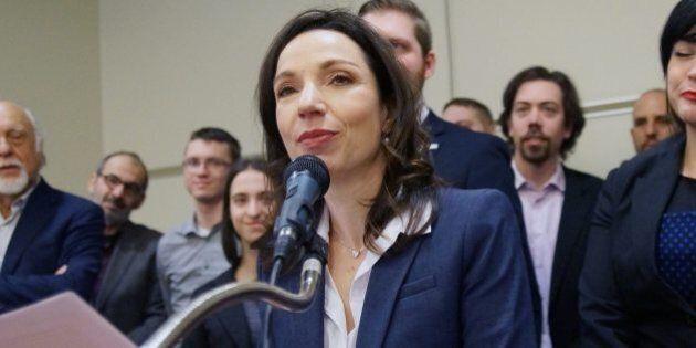 Bloc québécois: Martine Ouellet pourrait être élue par acclamation le 18