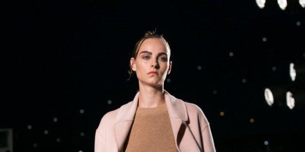 NEW YORK, NY - SEPTEMBER 08: Models walk the runway at Thakoon Fashion Show September 2016 New York Fashion...