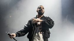 Avec ce masque, Drake risque de s'attirer les foudres de Kanye