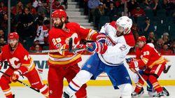 Les Flames réduisent la série de victoires des Canadiens en