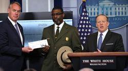 Donald Trump donne ses premiers salaires aux Parcs