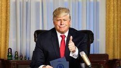 Un talk-show animé par un faux Trump sera diffusé à la
