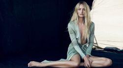 Candice Swanepoel est le visage de la nouvelle campagne parfum de
