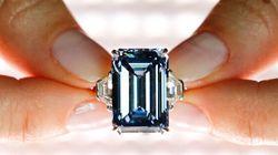 Le diamant bleu Oppenheimer a battu tous les records