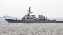 Japon: collision entre un destroyer américain et un navire