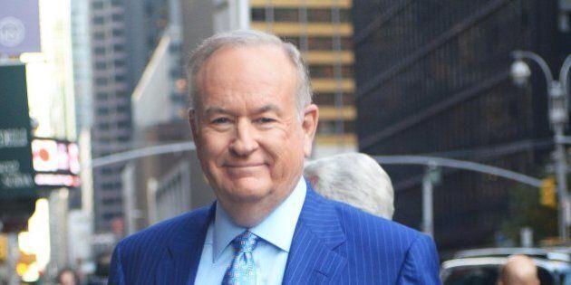 NEW YORK, NY - OCTOBER 17: Talk Show Host Bill O'Reilly is seen on October 17, 2016 in New York City....