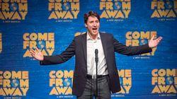 Justin Trudeau s'éclate pour le 1er