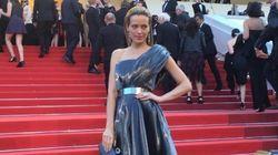 La première chute sur le tapis rouge de Cannes revient à