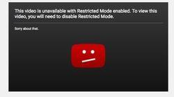 YouTube explique ses restrictions imposées au contenu