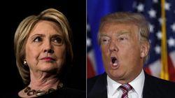 Clinton et Trump lancés dans la dernière ligne droite