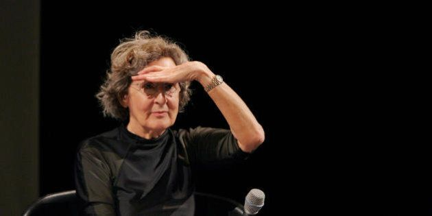 Paris, FRANCE: US post modern dance choregrapher Trisha Brown, 70, gives a press conference, 05 January...