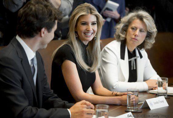 Ivanka Trump en pleine lumière lors de la visite de Justin