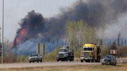 Faibles répercussions économiques des feux en