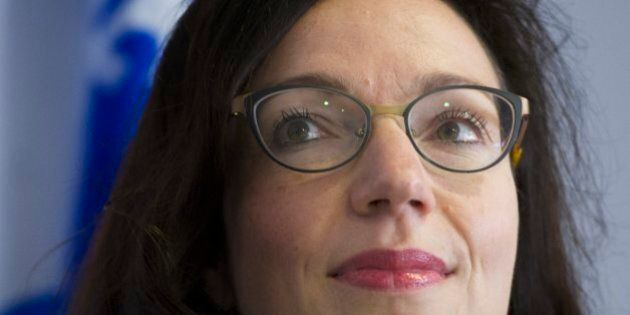 Martine Ouellet réfléchit à la composition de son possible